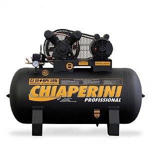Compressor de ar Profissional 10 pés 150 litros - monofásico