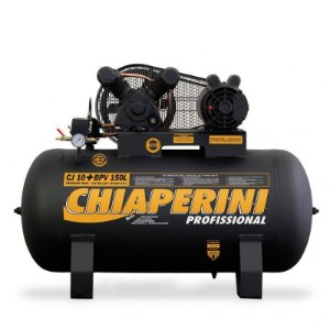 Compressor de ar Profissional 10 pés 150 litros - Trifasico