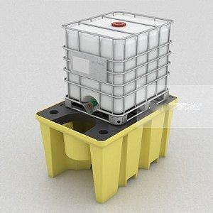 Kit Pallet de Contenção + Container IBC de 1000 Litros