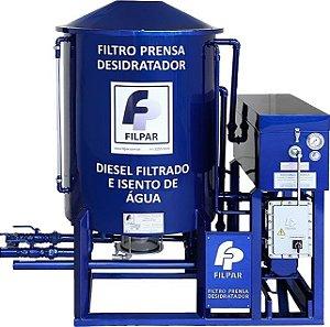 Filtro prensa desidratador FP 9000D W