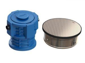 Caixa Separadora de Água e Óleo + Câmara de Calçada 28 Não Trafegável