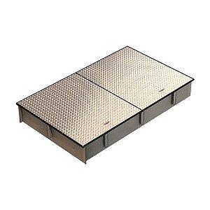 Câmara de calçada para caixa separadora de água e óleo ZP-2000 (Não Área trafegável)