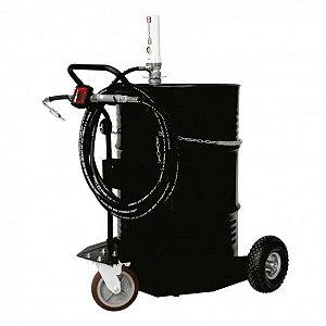 Unidade Movel Pneumática Med Digital Adap Tambor 200L-30Lpm