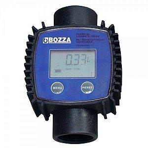 Medidor Digital para Diesel - Bozza Entrada e saída 1 Polegada BSP