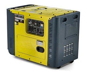 Gerador de Energia a Diesel Monofásico 13HP Bivolt Partida Elétrica - TOYAMA