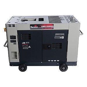 Gerador de Energia Cabinado 12,5 kVA à Diesel 380V Trifásico - TOYAMA