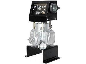Bloco Volumétrico Registrador com Numerador de Combustíveis de 04 Dígitos 100LPM 1 Polegada