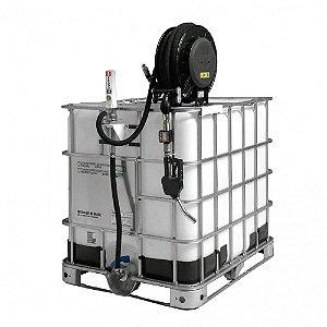 Unidade de Transferência Pneumática Piusi Capacidade 1000L com Carretel