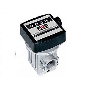 Medidor Mecânico para Diesel de 4 Dígitos 220LPM 1-1-2Pol BSP