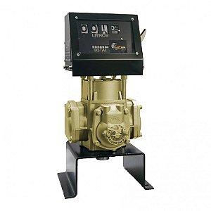 Bloco Volumétrico Registrador com Numerador para Diesel Gasolina Querosene e Etanol os 150LPM 1-1-2 de 04 DígitPolegadas