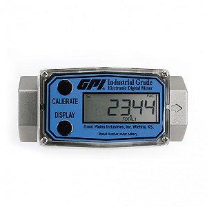 Medidor Digital Modular para Diesel Gasolina e Querosene 380LPM 1-1-2 Polegadas NPT