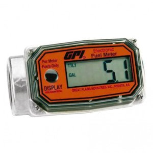 Medidor Digital Modular para Gasolina Etanol e Metanol GPI 2197 100LPM 1 Polegada NPT