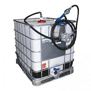 Unidade de Abastecimento IBC Pro Pneumática  50LPM Capacidade 1000 Litros com Medidor Digital