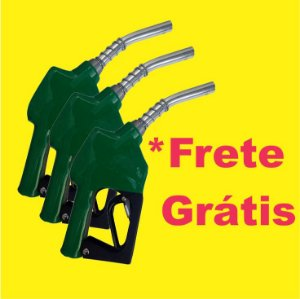 """Kit com Bico de Abastecimento Automático Ponteira Fina 1/2"""" Lupus"""