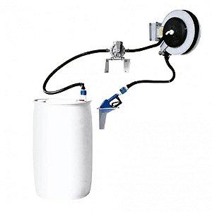 Unidade de Abastecimento Pneumática Pro 50LPM com Medidor Digital-Bico Automático-Carretel