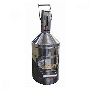 Aferidor em Aço Inoxidável Polido com Capacidade de 20 Litros Arla 32