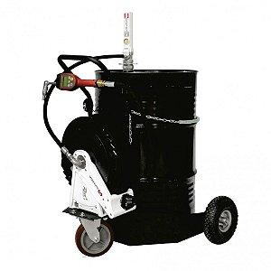 Unidade Movel Pneumática Med Programável Carretel Tambor 200L-35Lpm