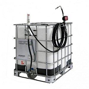 Unidade de Abastecimento Med Mecânico 10M Mang 1-2Pol IBC 1000LT 35LPM