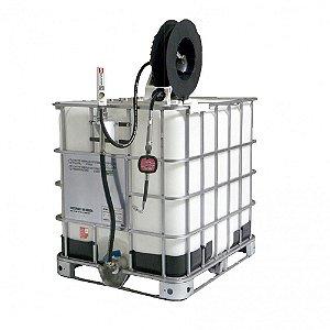 Unidade de Abastecimento Med Mecân Carretel 10M Mang 1-2Pol IBC 1000LT 35LPM