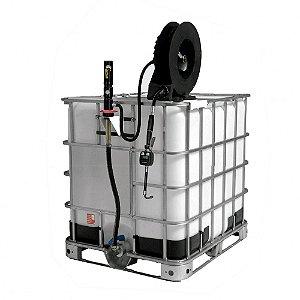 Unidade de Abastecimento Pneumática Cap 1000L 25LPM Com Carretel