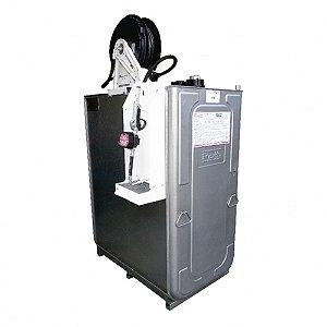 Unidade de Abastecimento Pneumática SAE 90 Cap 1000L 35LPM Med Mecânico com Carretel