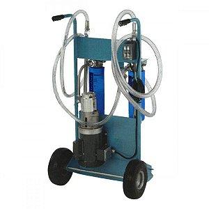 Unidade Móvel Elétrica Para Filtragem De Óleo Lubrificante 220/380  28LPM