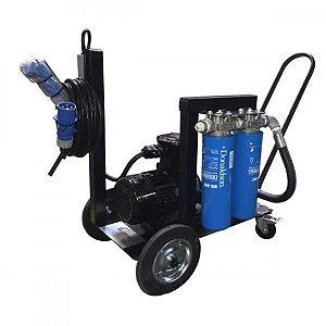 Unidade Móvel Elétrica de Transferência e Filtragem 380 Vac 55 LPM