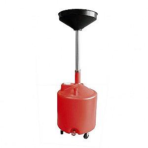 Coletor com Rodas com Capacidade de 65 Litros