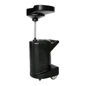 Coletor Rotomoldado Capacidade 120 Litros com Válvula de Dreno