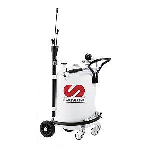 Unidade de Sucção de Óleo Pressurizada Capacidade 70 Litros com Mangueira Sucção e Descarga