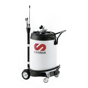 Unidade de Sucção de Óleo Pressurizada  Capacidade 100 Litros com Mangueira Sucção-Descarga