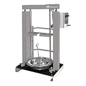 Elevador Fixo Pneumático para Compactação de Graxa para Tambor de 200 Kg