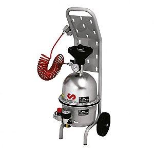Conjunto de Sucção à Vácuo para Fluídos de Freio Capacidade 5 Litros Entrada e saída 1-4 Polegadas