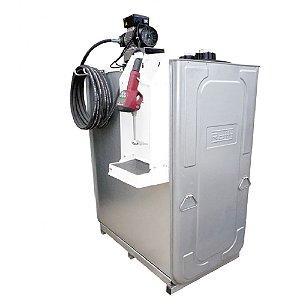Unidade de Abastecimento Elétrica SAE 90 220V  1000L 25LPM Med Digital Programável