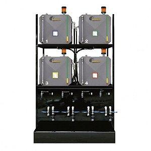 Sistema de Armazenamento Transferência e Filtragem Standard ISO 460 04 Reserv Metal