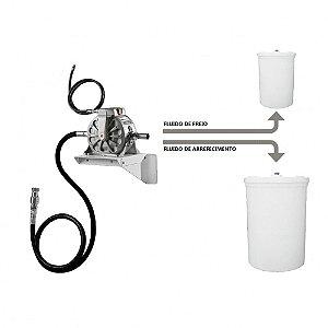 Unidade de Descarte Pneumática para Fluídos 50LPM Entrada e Saída 1-2 Polegadas com Reservatórios