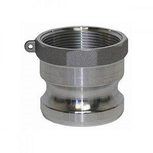 Adaptador Camlock Em Alumínio Tipo A