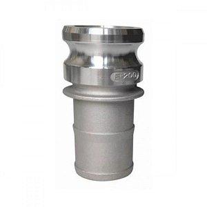 """Adaptador Camlock Em Alumínio Tipo E 1.1/4"""" x 1.1/4"""""""