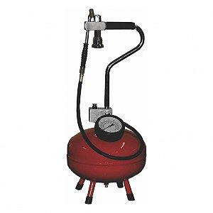 Calibrador de Ar com Reservatório Pressurizado com 10 Litros e Mangueira 1-5 Metros 1-4Pol