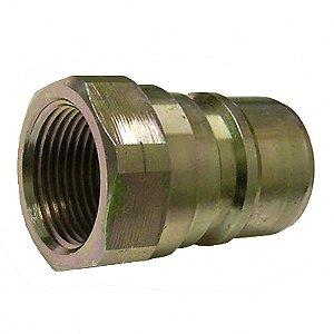 Conector com Válvula Rosca 3-8Pol Fêmea