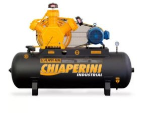Compressor 40 pcm/AP3V 425 Litros Trifásico Motor Blindado Intermitente - Chiaperini