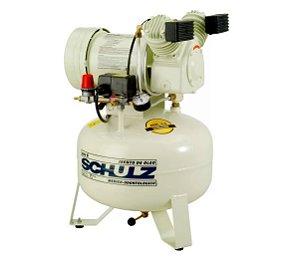 Compressor Odontológico Isento de Óleo 30 Litros 1HP - SCHULZ