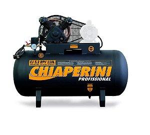 Compressor de Ar de Baixa Pressão CJ5.2 BPV 5,2 Pés 120Psi 110 Litros sem Motor - CHIAPERINI