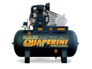Compressor de Ar Média Pressão 10 Pés 150L 140PSI sem Motor - CHIAPERINI