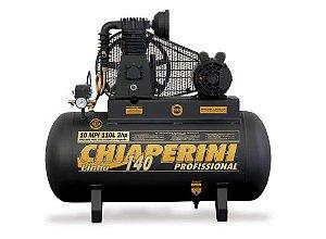 Compressor de Ar 10PCM 2HP 110 Litros Monofásico - CHIAPERINI