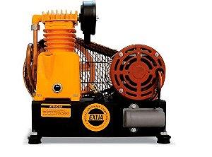 Compressor de Ar Baixa Pressão Sobre Base 2,6 Pés 120PSI 1/2HP 4P 110/220V Mono - CHIAPERINI