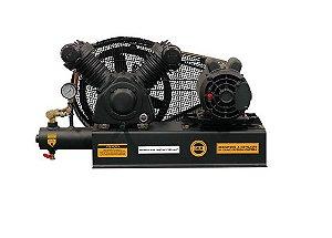 Compressor de Ar Sobre Base 10 Pés 120PSI 2HP Monofásico 110/220V - CHIAPERINI