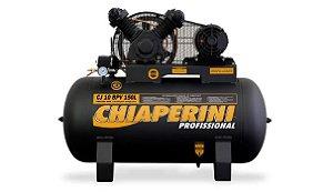 Compressor de Ar 10 PCM 2CV 150 Litros Trifásico - CHIAPERINI