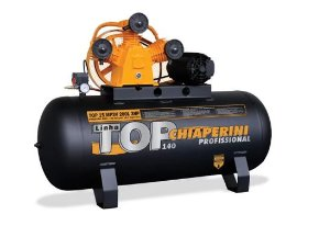 Compressor TOP 15 MP3V 200 Litros Motor 3 HP Trifásico - CHIAPERINI