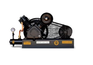 Compressor De Ar Alta Pressão Sobre Base CJ15 + APV 15 Pés 3HP 2P 175PSI 220/380V Trifásico - CHIAPERINI